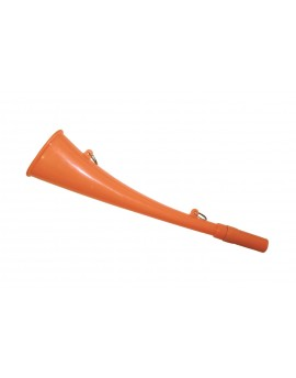 Trompette de chasse Plastique orange