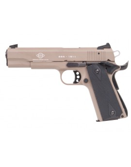Pistolet GSG 1911 US-Tan grip, Wood-design 22Lr