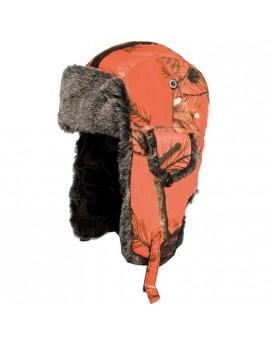 Chapka camouflage orange