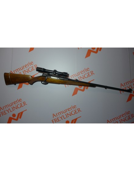 a saisir carabine Frankotte 375Mag faite pour Gastinne Renette avec lunette Zeiss 4x32